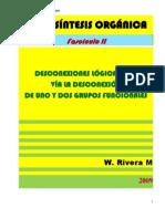DESCONEXIONES LÓGICAS C-C, VÍA LA DESCONEXIÓN DE UNO O DOS GRUPOS FUNCIONALES