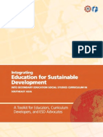 Integrating Education for Sustainable Development into Secondary Education Social Studies Curriculum in Southeast Asia