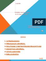 Fundamentaciones de Tec. Didac. Estrategias