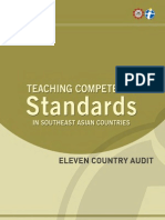 Teaching Competency Standards in Southeast Asian Countries