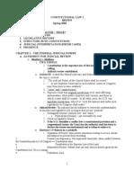 Chemerinsky Conlaw 1 Outline