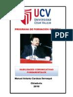 Habilidades Comunicativas Fundamentales 2010 II