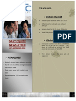 DAILY EQUITY REPORT BY EPIC RESEARCH-27 SEPTEMBER 2012