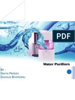 Water Purifier Industry