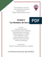 Unidad 3 Los Modelos de Decisión