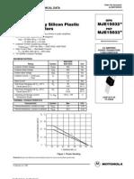 Data Sheet mje15033