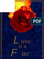 Love is a Fire- The Sufi's Mystical Journey Home by Llewellyn Vaughan-lee