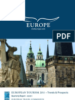 European Tourism 2011 Trends and Outlook