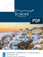 European Tourism 2012 Trends and Outlook
