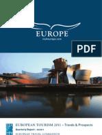 European Tourism  2011