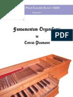 Fundamentum organisandi de Conrad Paumann