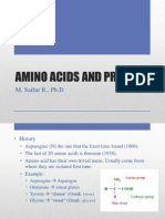 Amino Acids and Protein (Saifur)
