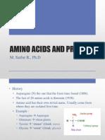 Amino Acids and Protein (Saifur)