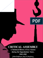 UVOD - Critical Assembly - A Technical History of Los Alamos During the Oppenheimer Years, 1943-1945 by Lillian Hoddeson, Paul W. Henriksen, Roger a. Meade, Catherine L. Westfall [1993]