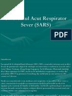 Sindromul Acut Respirator Sever (SARS)