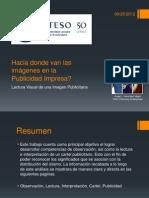 Lectura Visual de una Imagen Publicitaria