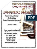 Industrial Project of Compensetation Management