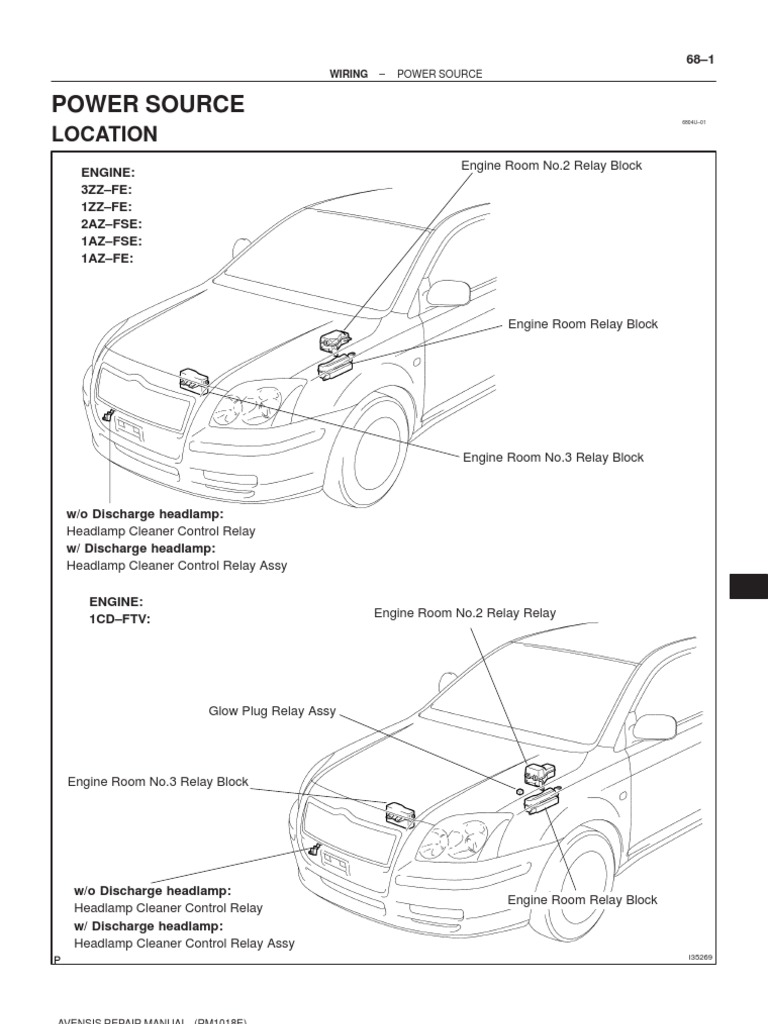 1az Fse Engine Toyota Repair Manual Pdf