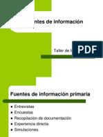 TIA04 Fuentes de Informacion