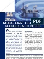 Global Giant Tullow Oil Succeeds with Integr8