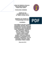 I TALLER - FISIOPATOLOGÍA DEL DOLOR