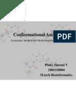 Conformational Analysis - Molecular Dynamics