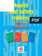HSE Health & Safety Training INDG345