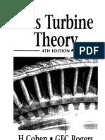 Gas Turbine Theory Henry Cohen, G. F. C. Rogers, H. I. H. Saravanamuttoo