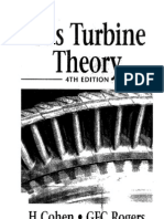 Gas Turbine Theory Henry Cohen, G. F. C. Rogers, H. I. H. Saravanamuttoo