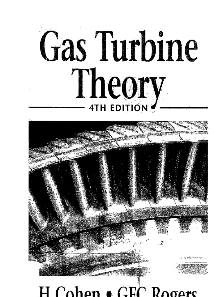 Gas turbine theory henry cohen g f c rogers h i h saravanamuttoo fandeluxe Gallery