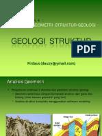 04. Analisis Geometri Struktur Geologi