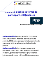 Audieri Publice