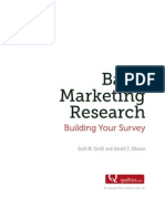 Building Your Survey - Reader