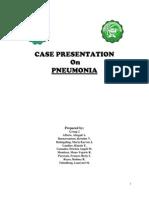 Case Presentation (Pneumonia)