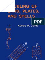 Buckling of Bars, Plates and Shells (Robert m. Jones)