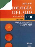 FISIOLOGIA DEL OJO - Aplicación clínica - Kaufman, Paul_Alm, Albert - 10ma ed.