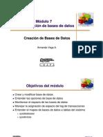 Modulo 7 (3 Creacion DB) Sybase