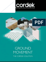 Ground Movement 2012