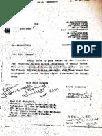 Dr Manmohan Singh Letter