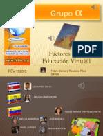 Factores de La Educacion Virtual REV132012