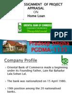 Proj App Loan