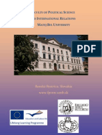 Brochure (Basic Information, Deadlines, Academic Calendar, Offer Courses)