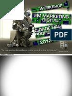 Workshop Marketing Digital na Cidade das Profissões