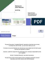 Redundant Ethernet EFTA06_Kirrmann