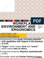 Chapter 4 Workplace Environment and Ergonomics