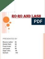RO-RO AND LASH