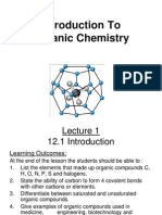 Introduction to Ogranic Chemistry