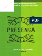 [MANUAL] FREQUENCIA ESCOLAR (PROJETO PRESENÇA)