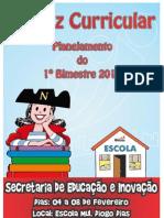 MATRIZ CURRICULAR - PLANEJAMENTO 1º BIMENSTRE 2011