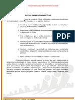 ORIENTAÇÃO - FREQUÊNCIA ESCOLAR